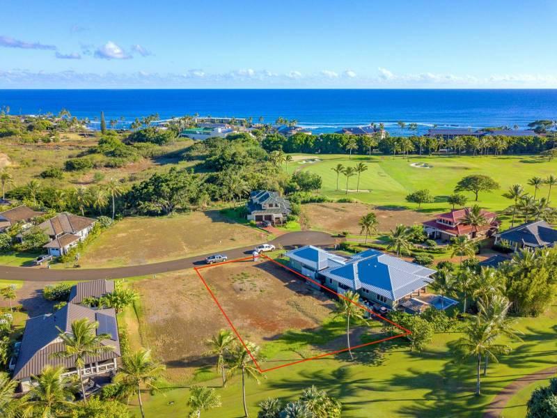 Lot 21 vacant lot for sale kukuiula kauai