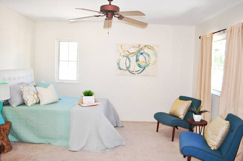bedroom in oahu home for sale