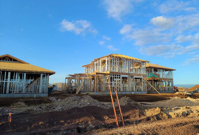 home construction at Lehua in ewa beach oahu