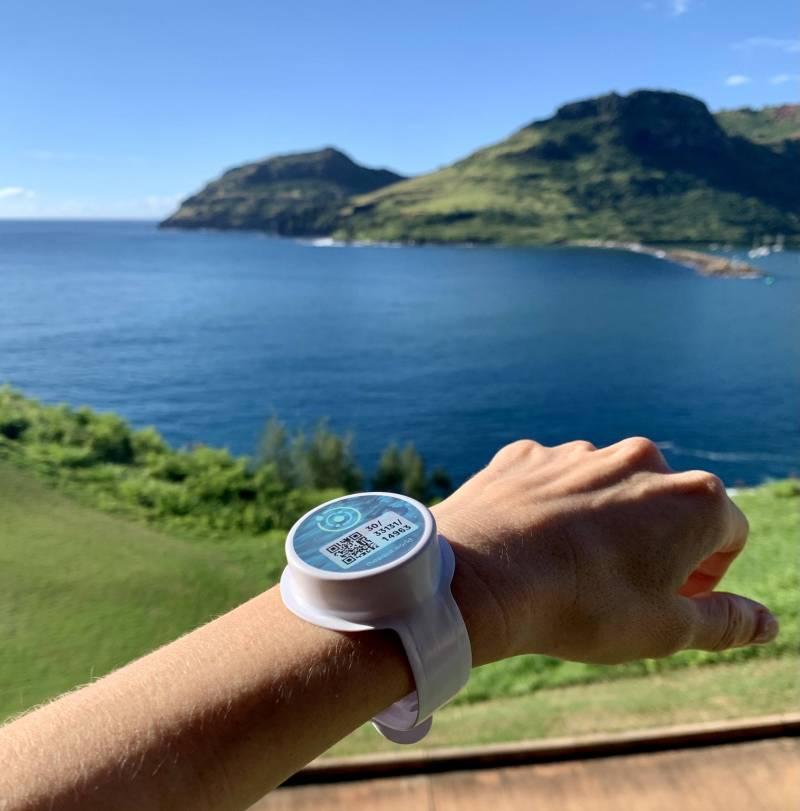 kauai covid quarantine bracelet