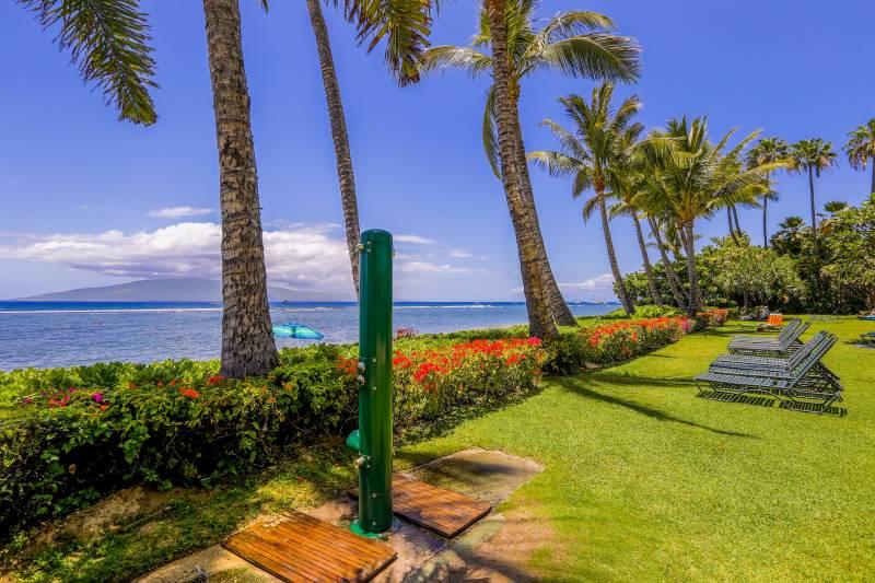 Lahaina Shores Beach Resort ocean views