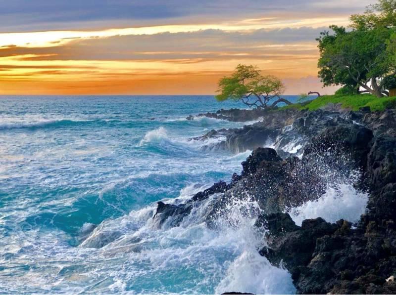 waves at mauna kea resort