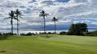 kaanapali golf course in west maui