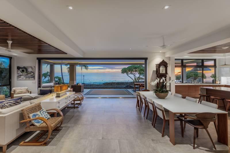 oceanfront home on the kona coast