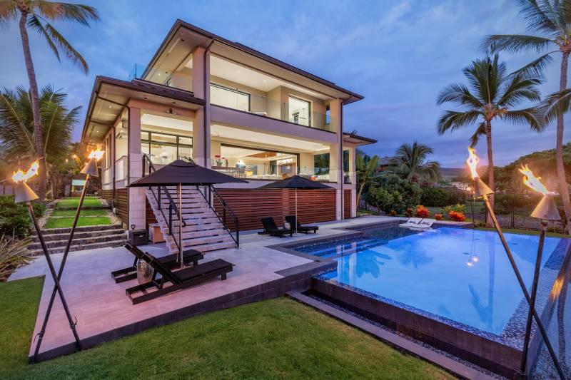 luxury big island home for sale
