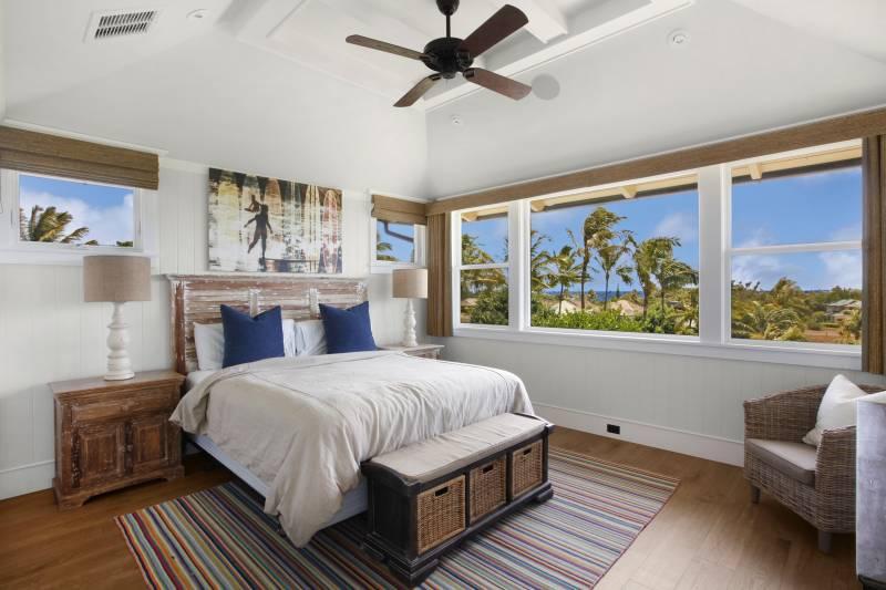ocean views from upstairs bedroom