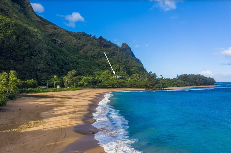 beach house on kauai's north shore