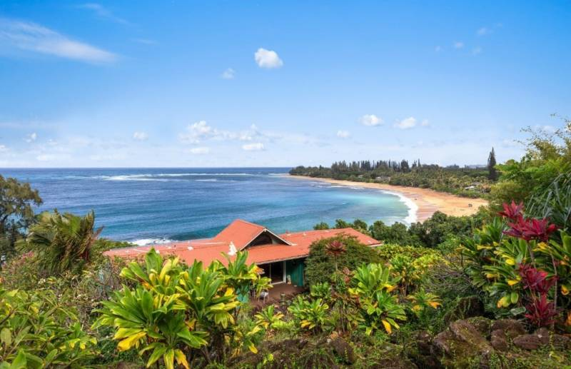 kauai north shore beach home for sale