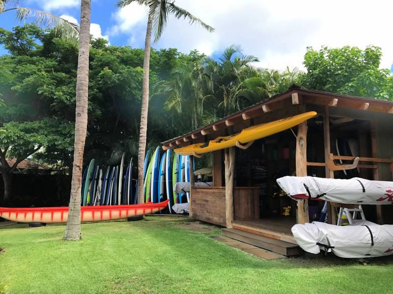 Watersports Shack at kukuiula kauai