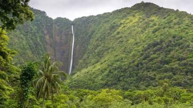 best waterfall on big island hawaii