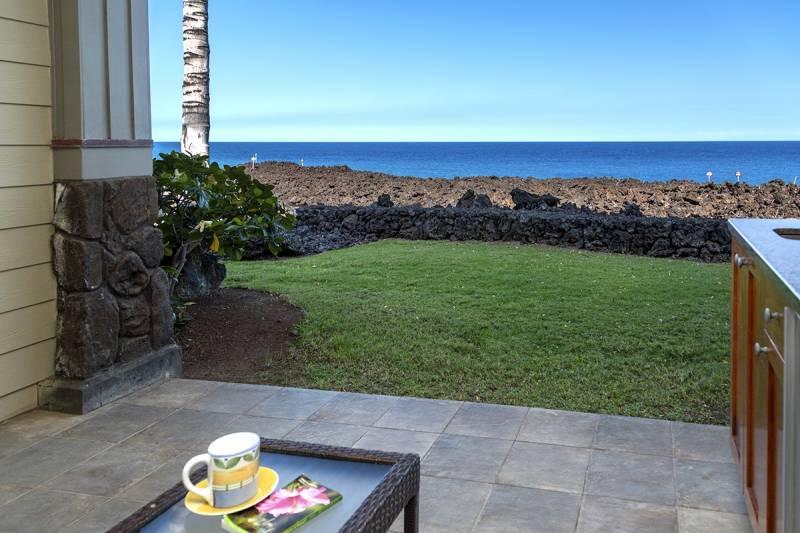 Halii Kai oceanfront 2 bedroom