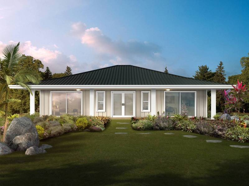 pre-fab home plans in hawaii