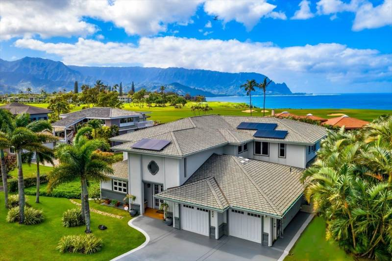 princeville kauai golf course home for sale