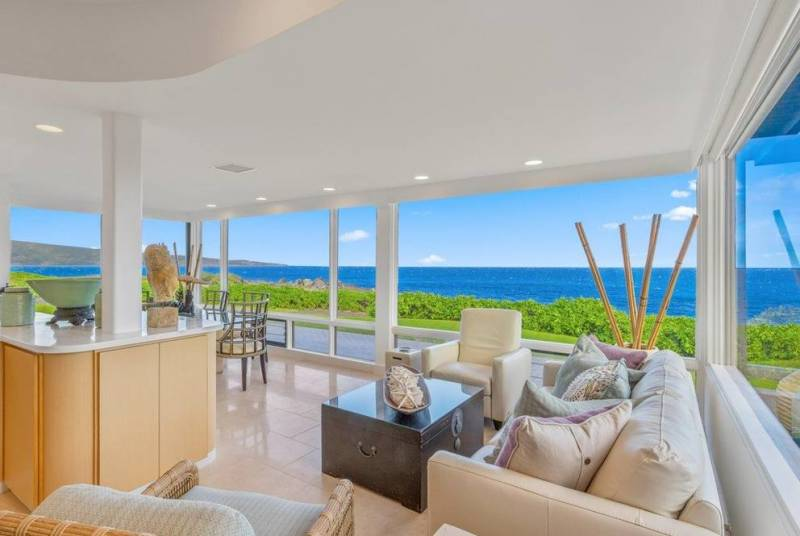 panoramic ocean views from west maui condo for sale