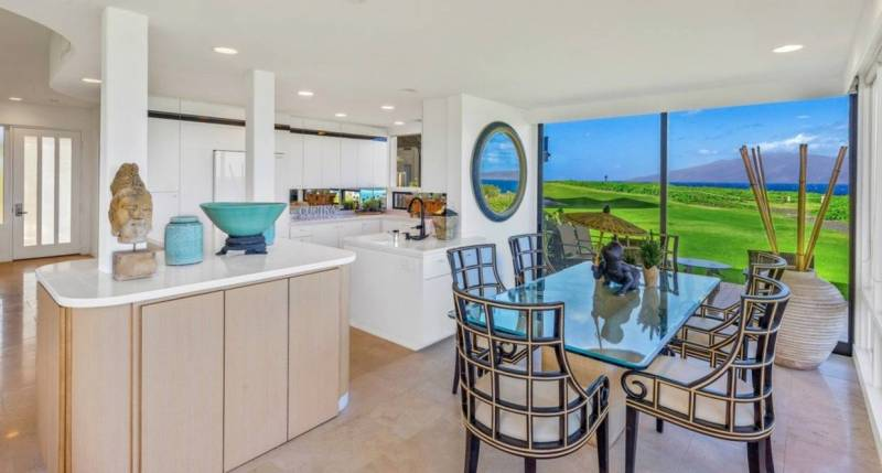 golf course views from kapalua bay villas condo for sale