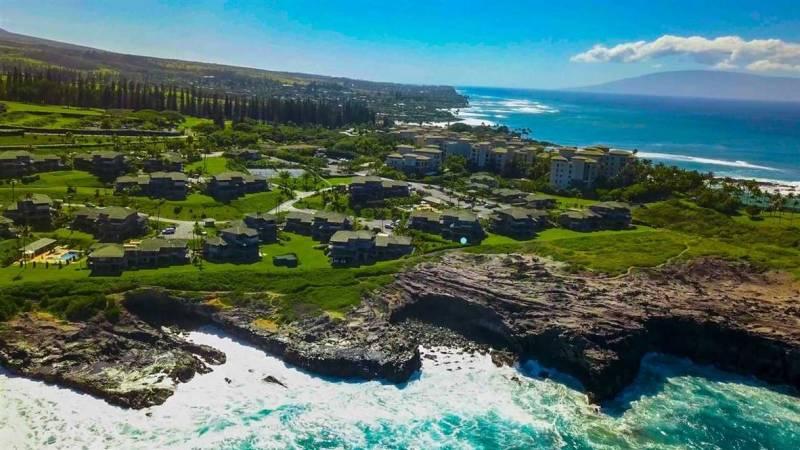 oceanfront kapalua bay villas in west maui