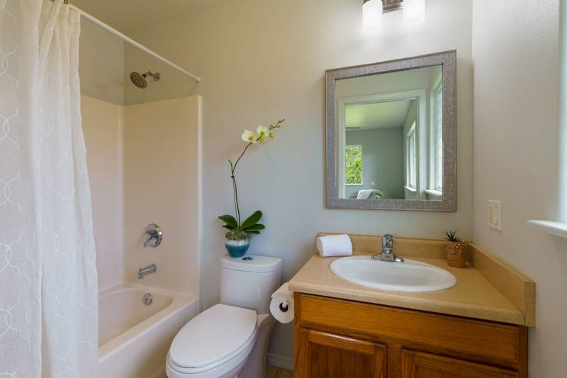 bathroom in home for sale on kauai