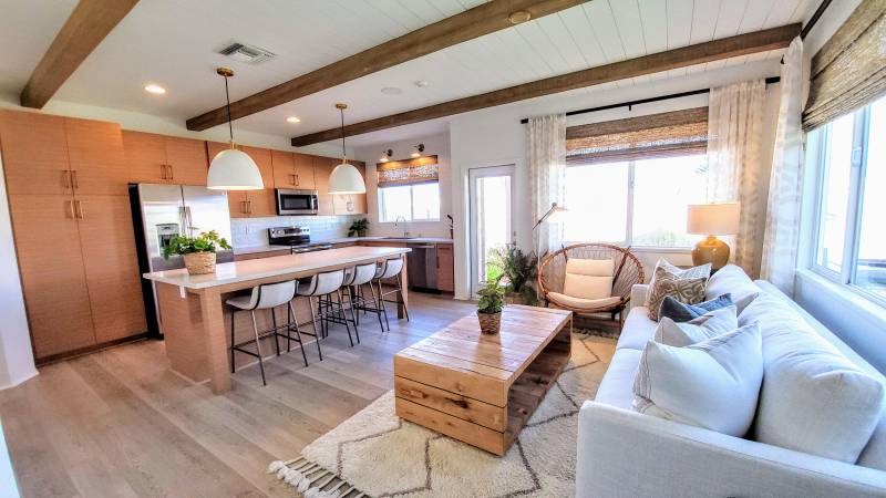 kitchen in new home for sale on oahu