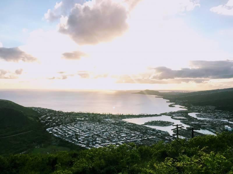 portlock and hawaii kai marina on oahu