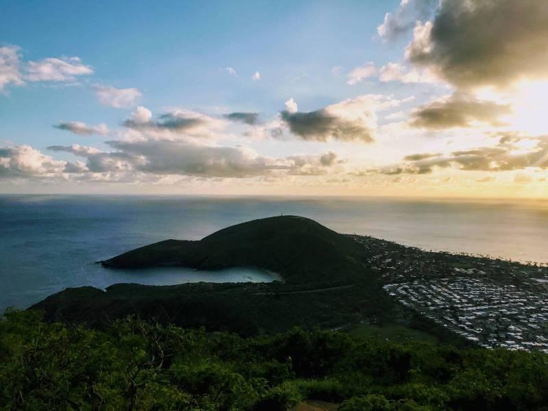 hanauma bay and koko head views in hawaii kai