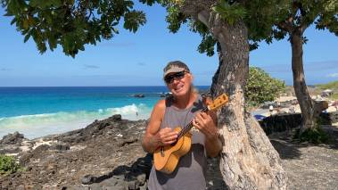 ukulele on the big island hawaii