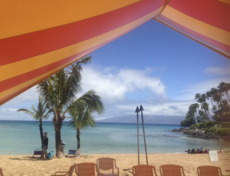 view of beach in west maui