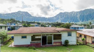 kaneohe oahu home with mountain views