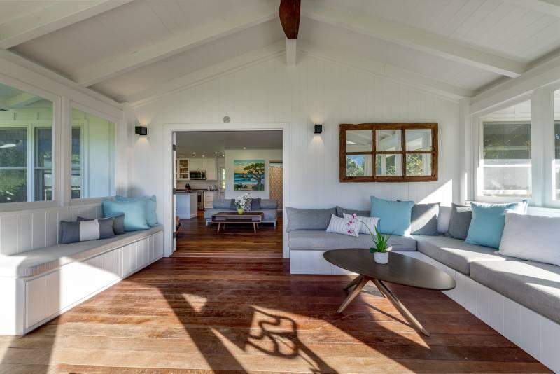 natural light in hanalei kauai home