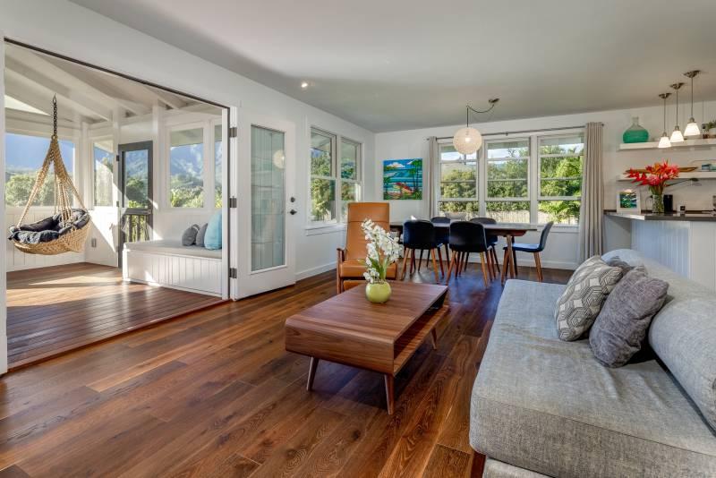 modern design in hanalei kauai home for sale