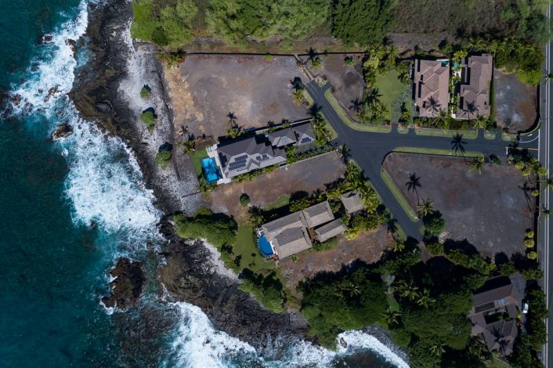 oceanfront big island lot for sale at ke alohi kai