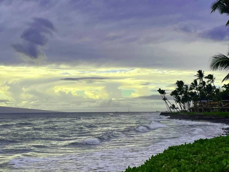 winter in west maui