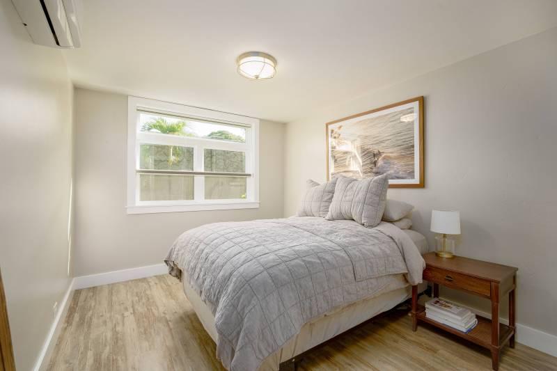 bedroom in spinnaker condo