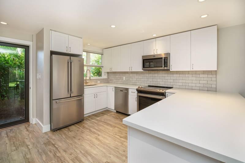 kitchen in maui condo for sale