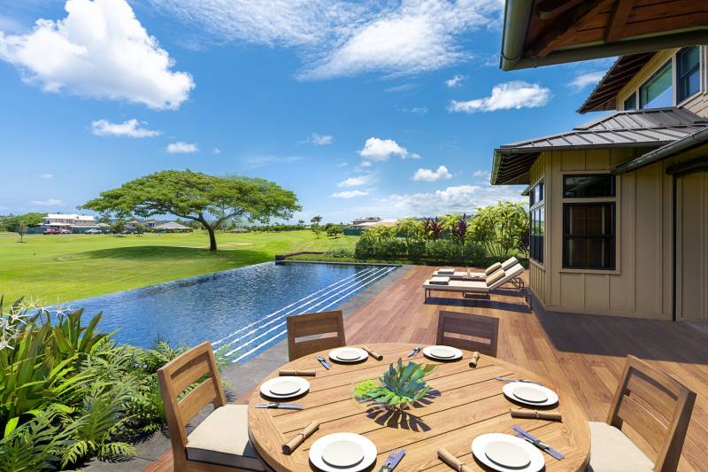 digital rendering of deck and pool