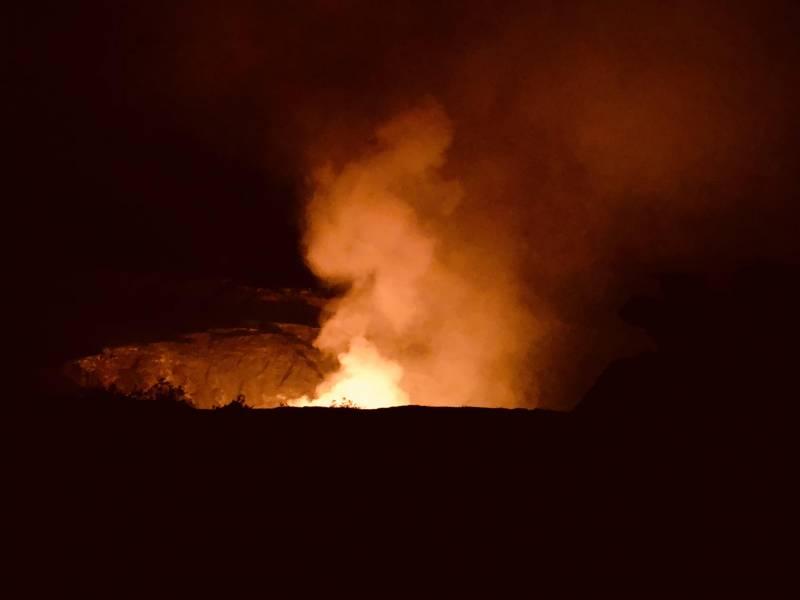 puna big island lava flow