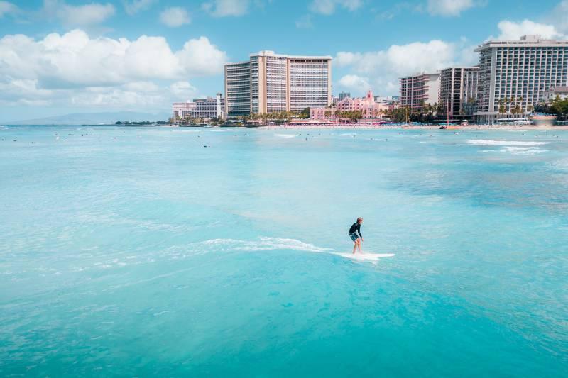 surfing in honolulu