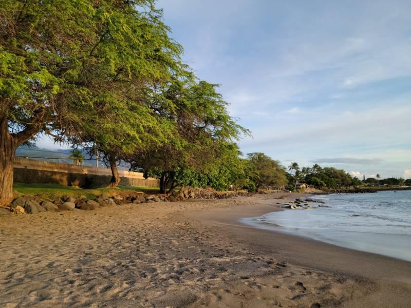 Wahikuli beach view