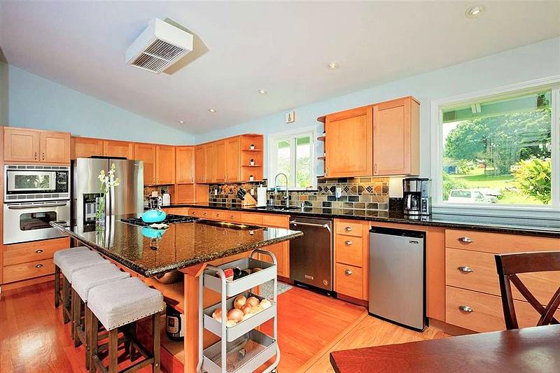 large open kitchen in haiku