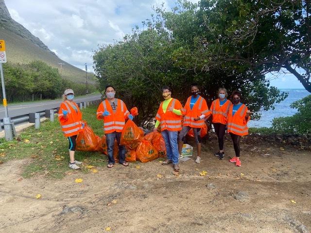 hawaii life realtors clean up kauai