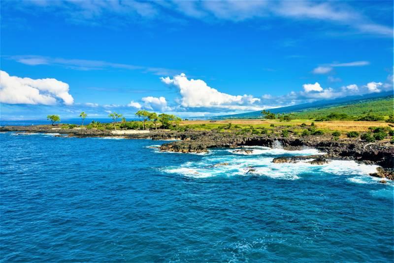 beautiful ocean views at hokulia