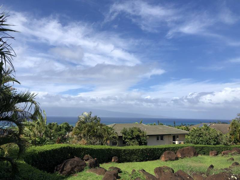 Expansive views in Kahana Ridge