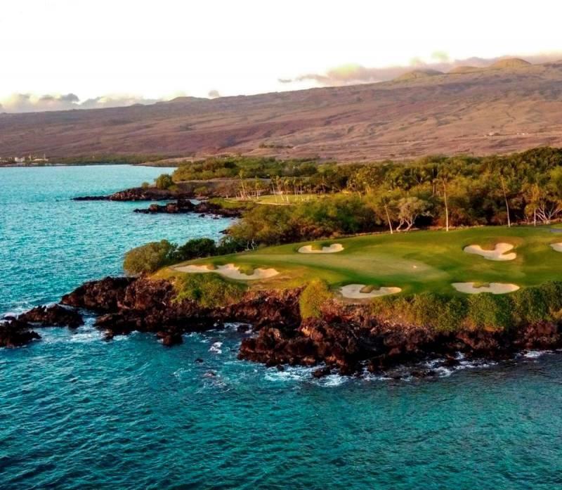 golf at mauna kea resort