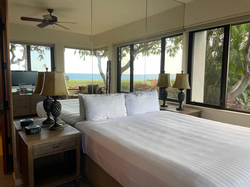 Master Bedroom View Mauna Lani Point
