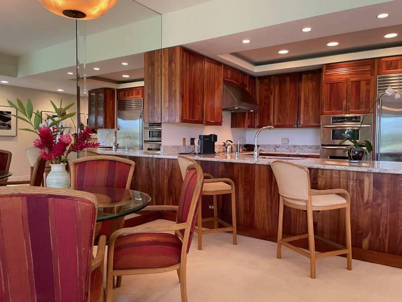 Kitchen of Mauna Lani Point F106