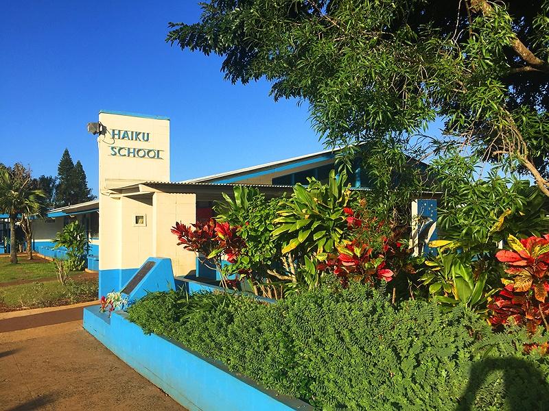 located near haiku school