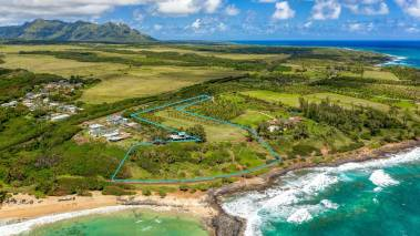 kauai oceanfront acreage for sale