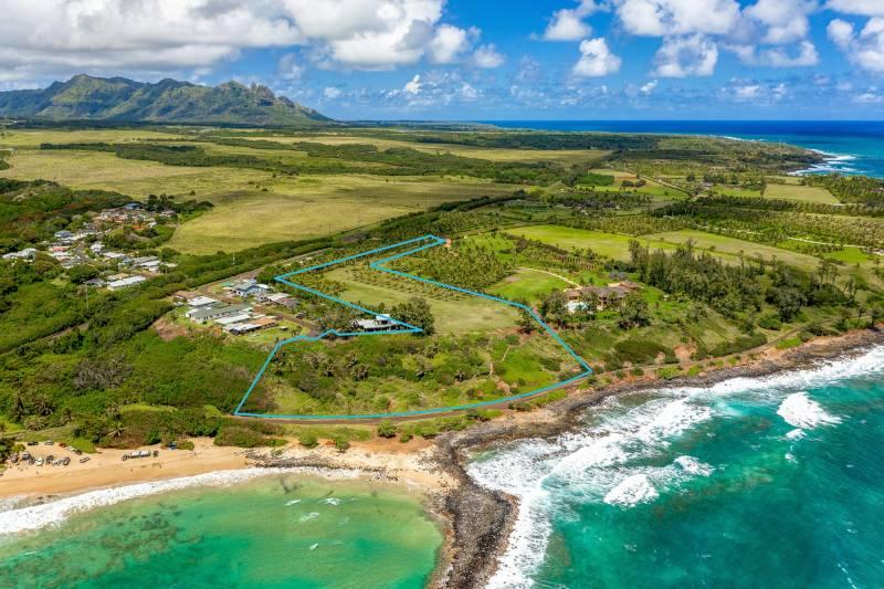 kauai oceanfront parcel for sale