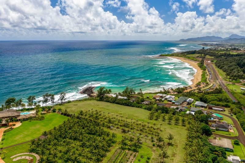 kauai oceanfront land for sale