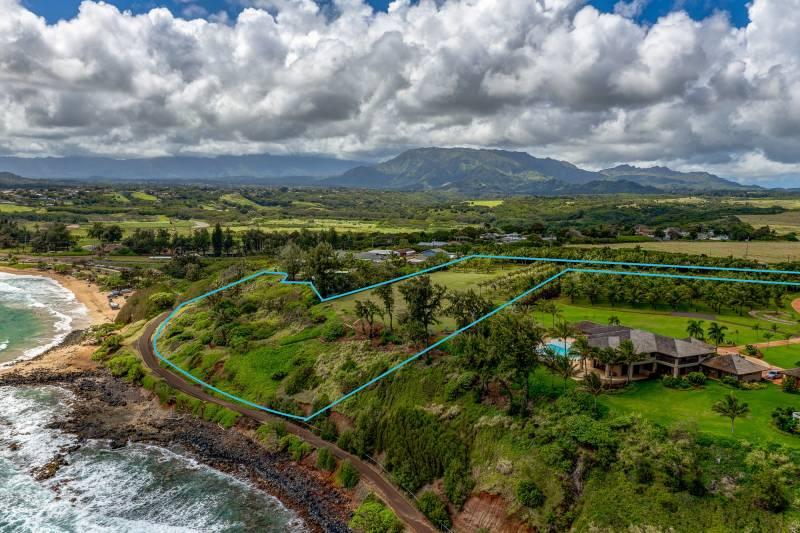 oceanfront land on kauai