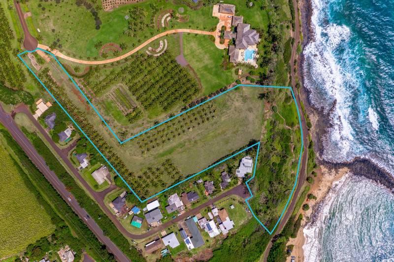 oceanfront kauai parcel